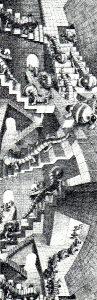 A 251 M.C Escher